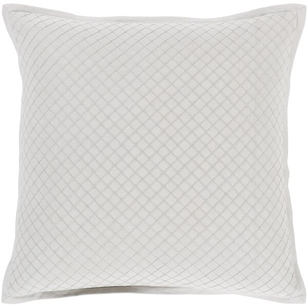 Troene Square 100% Cotton Pillow Cover by Lark Manor